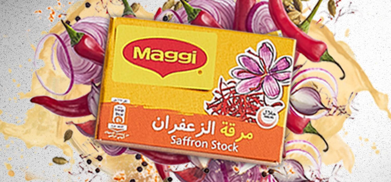 Maggi Saffron Stock