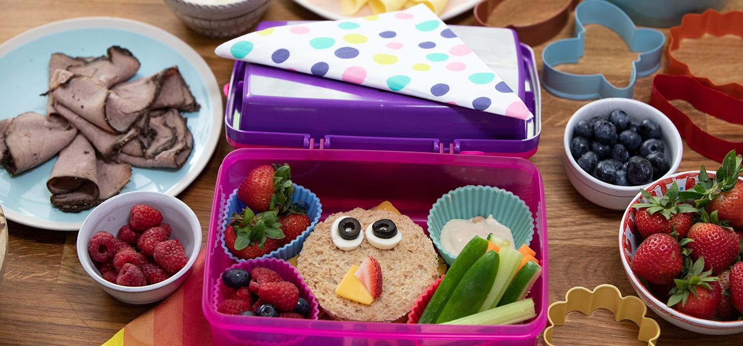 Pack your kids lunchbox with healthy snacks