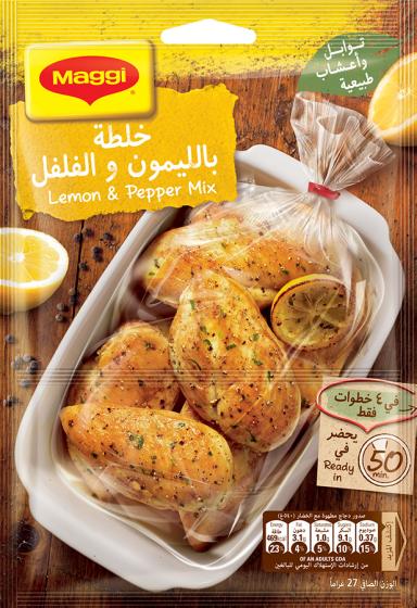 Maggi Lemon and Pepper Mix